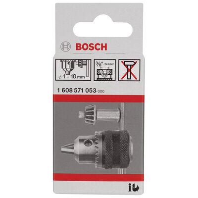 Bosch 1-10 mm - 3/8''-24 Anahtarlı Mandren BOSCH