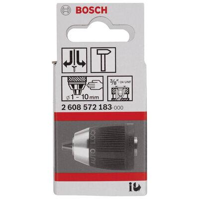 Bosch 1-10 mm - 3/8''-24 Anahtarsız Mandren BOSCH