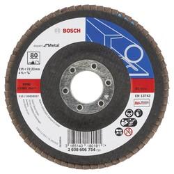 Bosch 115 mm 80 Kum Expert Serisi Metal Flap Disk - Thumbnail