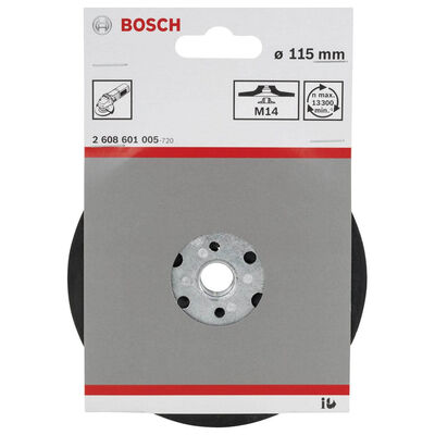 Bosch 115 mm M14 Fiber Disk için Taban BOSCH