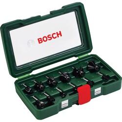 Bosch 12 Parça Freze Seti 8 mm Şaftlı - Thumbnail