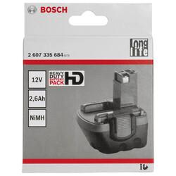 Bosch 12 V 2,6 Ah HD NiMh O-Pack Akü - Thumbnail