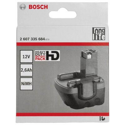 Bosch 12 V 2,6 Ah HD NiMh O-Pack Akü BOSCH