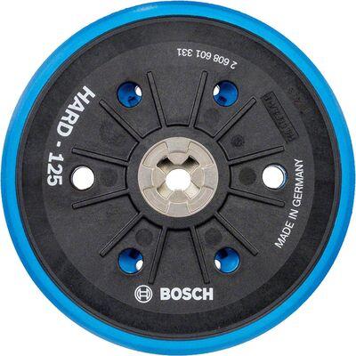 Bosch 125 mm 5/16'' Çok Delikli Zımpara Tabanı Sert