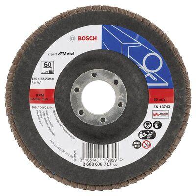 Bosch 125 mm 60 Kum Expert Serisi Metal Flap Disk