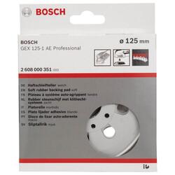 Bosch 125 mm Zımpara Tabanı Ekstra Yumuşak (GEX) - Thumbnail