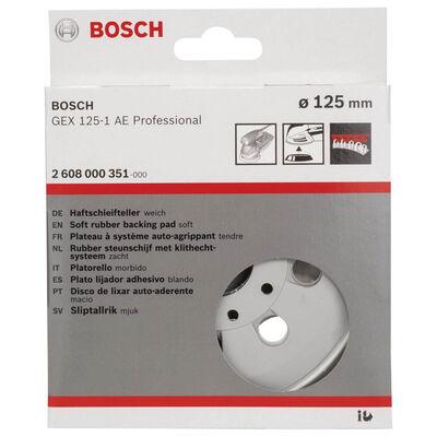 Bosch 125 mm Zımpara Tabanı Ekstra Yumuşak (GEX) BOSCH