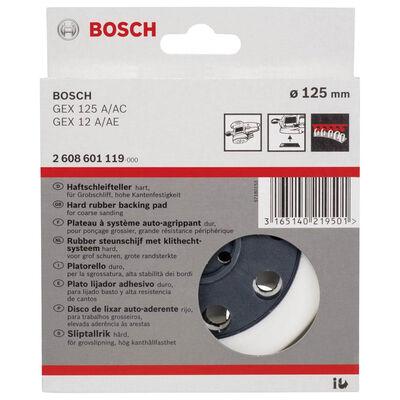 Bosch 125 mm Zımpara Tabanı Sert (GEX) BOSCH