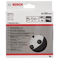 Bosch 125 mm Zımpara Tabanı Sert (PEX) - Thumbnail