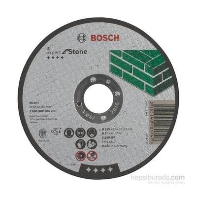 Bosch 125*2,5 mm Expert Serisi Düz Taş Kesme Diski (Taş)