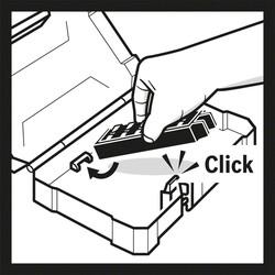 Bosch 1/4'' Hex 3/8'' Socket Adaptör *50mm - Thumbnail