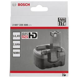 Bosch 14,4 V 2,6 Ah HD NiMh O-Pack Akü - Thumbnail