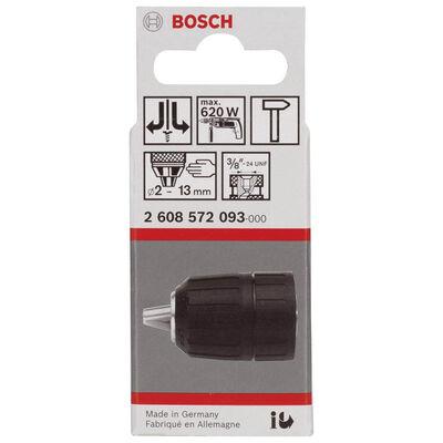 Bosch 1,5-13 mm - 3/8''-24 Anahtarsız Mandren BOSCH