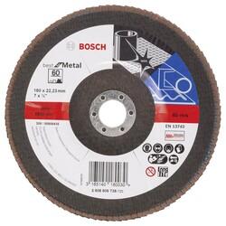Bosch 180 mm 60 Kum Best Serisi Metal Flap Disk - Thumbnail