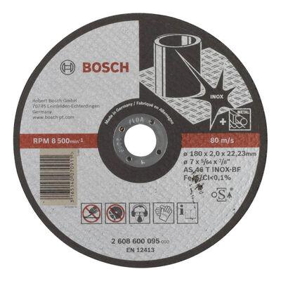 Bosch 180*2,0 mm Expert Serisi Düz Inox (Paslanmaz Çelik) Kesme Diski (Taş)