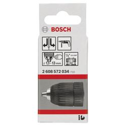 Bosch 2-13 mm - 1/2''-20 Anahtarsız Mandren - Thumbnail
