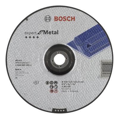 Bosch 230*2,5 mm Expert Serisi Bombeli Metal Kesme Diski (Taş)