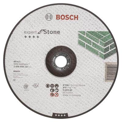 Bosch 230*3,0 mm Expert Serisi Bombeli Taş Kesme Diski (Taş)