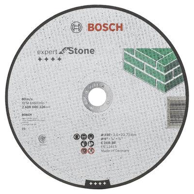 Bosch 230*3,0 mm Expert Serisi Düz Taş Kesme Diski (Taş)