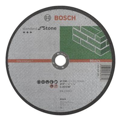 Bosch 230*3,0 mm Standard Seri Düz Taş Kesme Diski (Taş)
