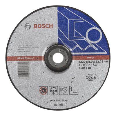 Bosch 230*8,0 mm Expert Serisi Bombeli Metal Taşlama Diski (Taş)