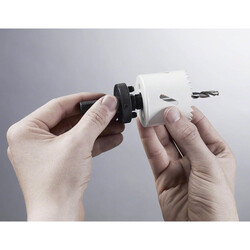 Bosch Altıgen Şaftlı 14-30 mm Pançlar İçin Adaptör, Anahtar Ağzı 1/4'' (6,35mm) - Thumbnail