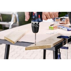 Bosch Altıgen Şaftlı Ahşap Matkap Ucu 3*74 mm - Thumbnail