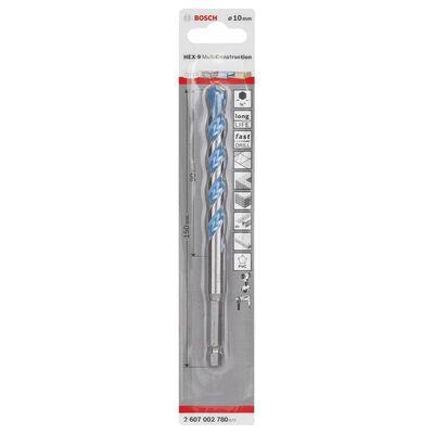 Bosch Altıgen Şaftlı, HEX-9 Serisi Çoklu Malzeme için Matkap Ucu 10*150 mm BOSCH