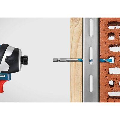 Bosch Altıgen Şaftlı, HEX-9 Serisi Çoklu Malzeme için Matkap Ucu 5'li Set 4-5-6-8-10 mm BOSCH
