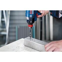 Bosch Altıgen Şaftlı - Impact Control - HSS Metal Matkap Ucu 9,5*125mm - Thumbnail