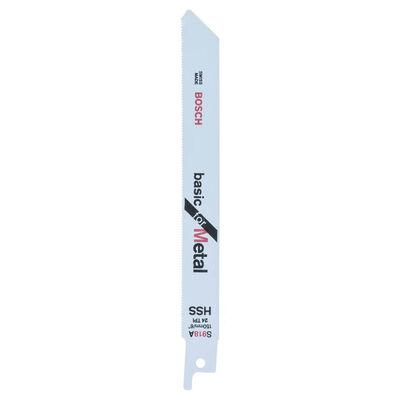 Bosch Basic Serisi Metal için Panter Testere Bıçağı S 918 AF - 2'li