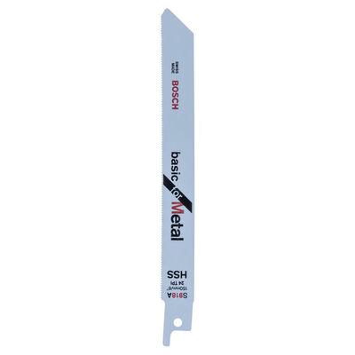 Bosch Basic Serisi Metal için Panter Testere Bıçağı S 918 AF - 5'li