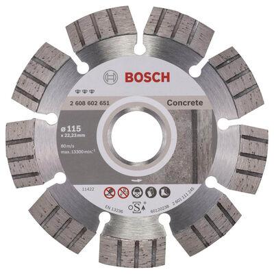 Bosch Best Serisi Beton İçin Elmas Kesme Diski 115 mm