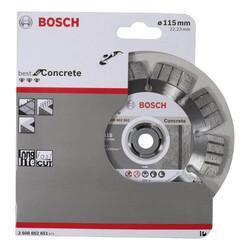 Bosch Best Serisi Beton İçin Elmas Kesme Diski 115 mm - Thumbnail