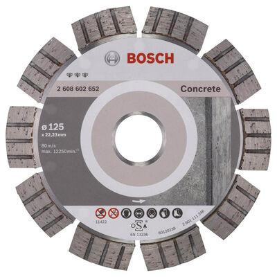 Bosch Best Serisi Beton İçin Elmas Kesme Diski 125 mm