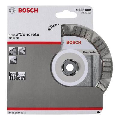 Bosch Best Serisi Beton İçin Elmas Kesme Diski 125 mm BOSCH