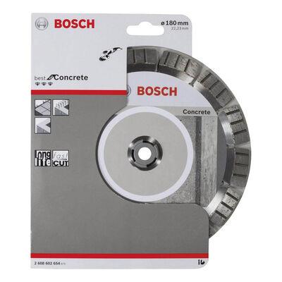 Bosch Best Serisi Beton İçin Elmas Kesme Diski 180 mm BOSCH