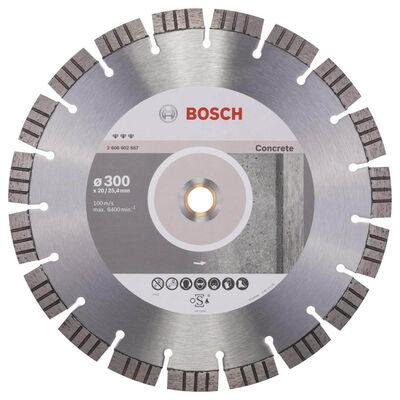 Bosch Best Serisi Beton İçin Elmas Kesme Diski 300 mm