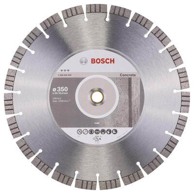 Bosch Best Serisi Beton İçin Elmas Kesme Diski 350 mm