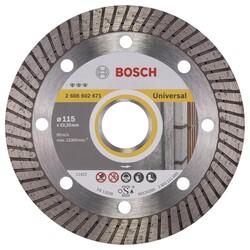 Bosch Best Serisi Genel Yapı Malzemeleri İçin Turbo Segmanlı Elmas Kesme Diski 115 mm - Thumbnail