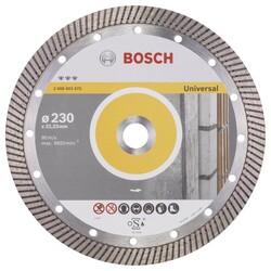 Bosch Best Serisi Genel Yapı Malzemeleri İçin Turbo Segmanlı Elmas Kesme Diski 230 mm - Thumbnail