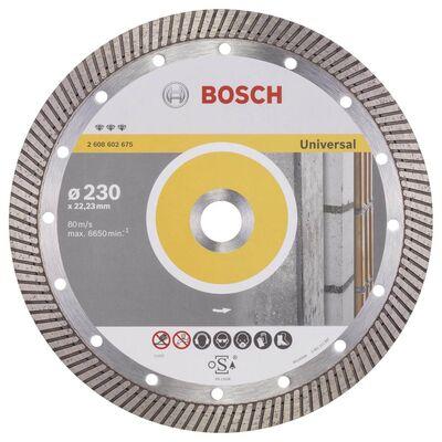 Bosch Best Serisi Genel Yapı Malzemeleri İçin Turbo Segmanlı Elmas Kesme Diski 230 mm