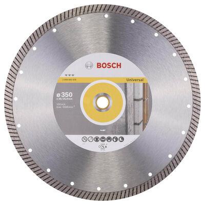 Bosch Best Serisi Genel Yapı Malzemeleri İçin Turbo Segmanlı Elmas Kesme Diski 350 mm