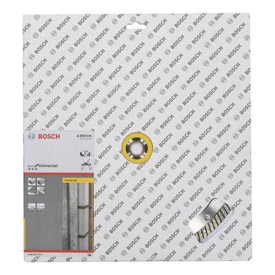 Bosch Best Serisi Genel Yapı Malzemeleri İçin Turbo Segmanlı Elmas Kesme Diski 350 mm BOSCH