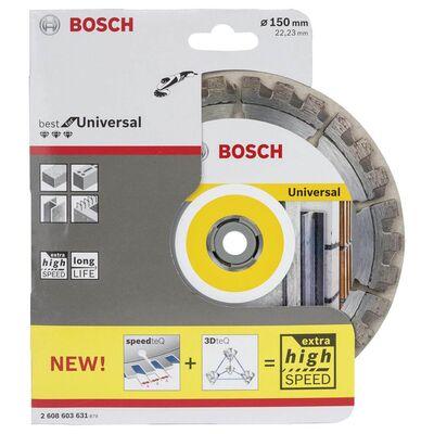 Bosch Best Serisi Genel Yapı Malzemeleri ve Metal İçin Elmas Kesme Diski 150 mm BOSCH