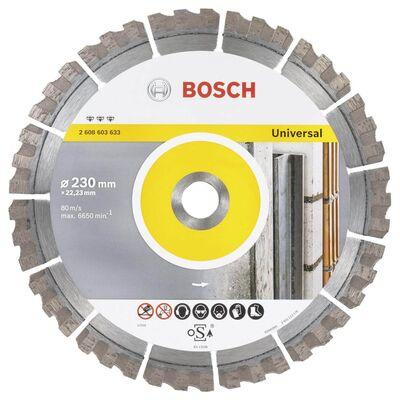 Bosch Best Serisi Genel Yapı Malzemeleri ve Metal İçin Elmas Kesme Diski 230 mm