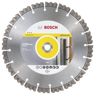 Bosch Best Serisi Genel Yapı Malzemeleri ve Metal İçin Elmas Kesme Diski 300*20 mm