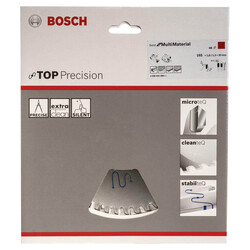 Bosch Best Serisi Hassas Kesim Çoklu Malzeme için Daire Testere Bıçağı 165*20 mm 48 Diş - Thumbnail