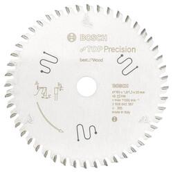 Bosch Best Serisi Hassas Kesim Çoklu Malzeme için Daire Testere Bıçağı 165*20 mm 56 Diş - Thumbnail