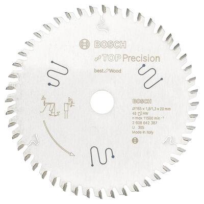 Bosch Best Serisi Hassas Kesim Çoklu Malzeme için Daire Testere Bıçağı 165*20 mm 56 Diş